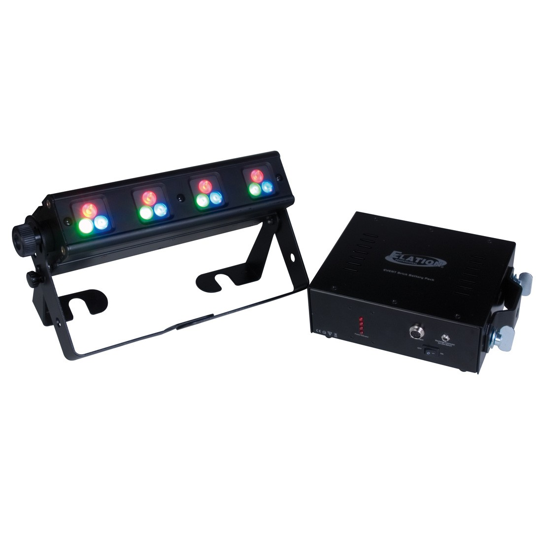 Elation EVENT BRICK Color Changing Wireless DMX Receiver Built-in Solution
