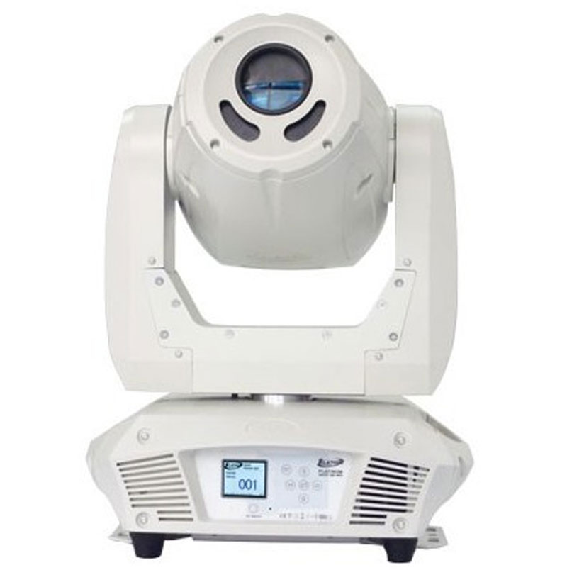 Elation Lighting Platinum Spot 15R Pro White Case Moving Head with CMY Color Sys