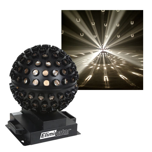 Eliminator Lighting E112 Clear Starsphere Centerpiece