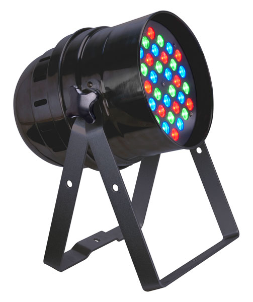 Eliminator Lighting ELECTRO 64BLED 4-Ch Color Wash Effect with 36 x 1 Watt RGB