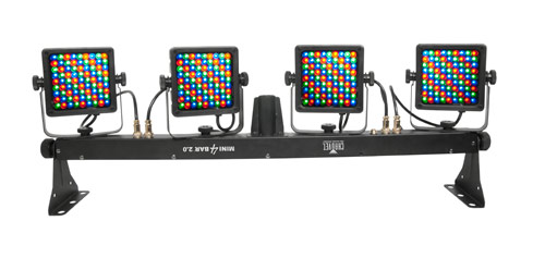 Chauvet DJ Lighting (2) MINI 4BAR 2.0 Mobile Wash Light Package u0026 Stand Light with American DJ RGBW4C DMX Controller  sc 1 st  HiFiSoundconnection & Chauvet DJ Lighting (2) MINI 4BAR 2.0 Mobile Wash Light Package ... azcodes.com