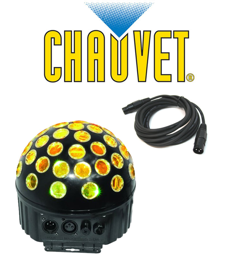 Chauvet DJ Lighting MINI SPHERE 3.1 Rotating LED Dance Effect Light with DMX Cable Package  sc 1 st  HiFi Sound Connection & Chauvet DJ Lighting MINI SPHERE 3.1 Rotating LED Dance Effect ... azcodes.com