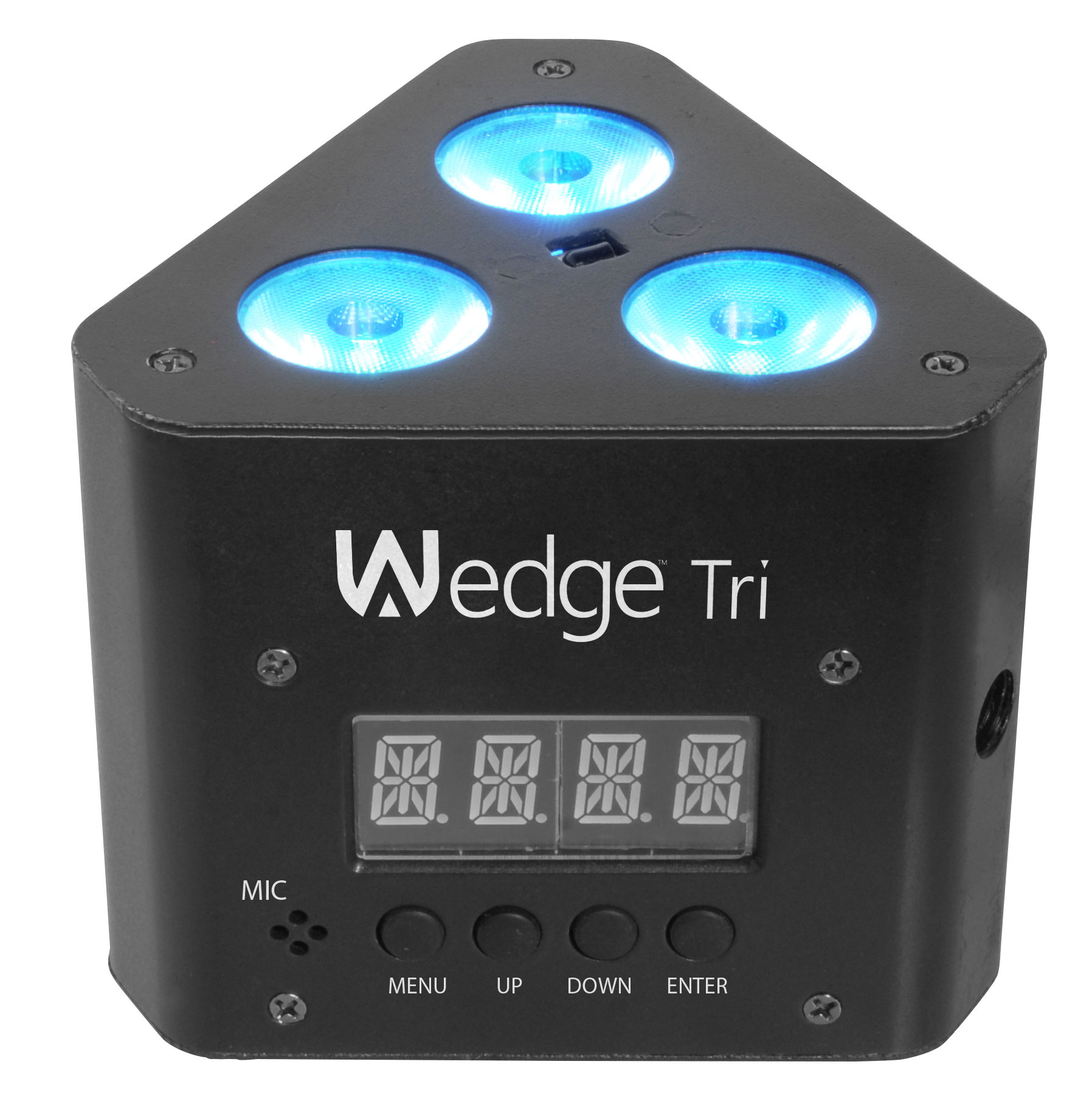 Chauvet DJ Lighting Wedge Tri Multi Color LED Wash Triangular Truss Accent Light with DMX Cable u0026 Truss Cl&  sc 1 st  HiFi Sound Connection : dmx lighting package - azcodes.com