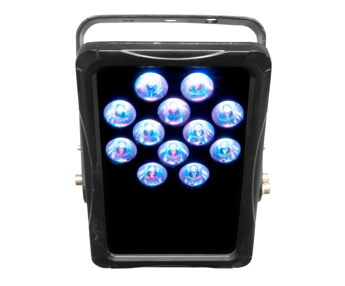 Chauvet dj lighting slimpanel tri 12 ip outdoor par can for Outdoor lighting packages