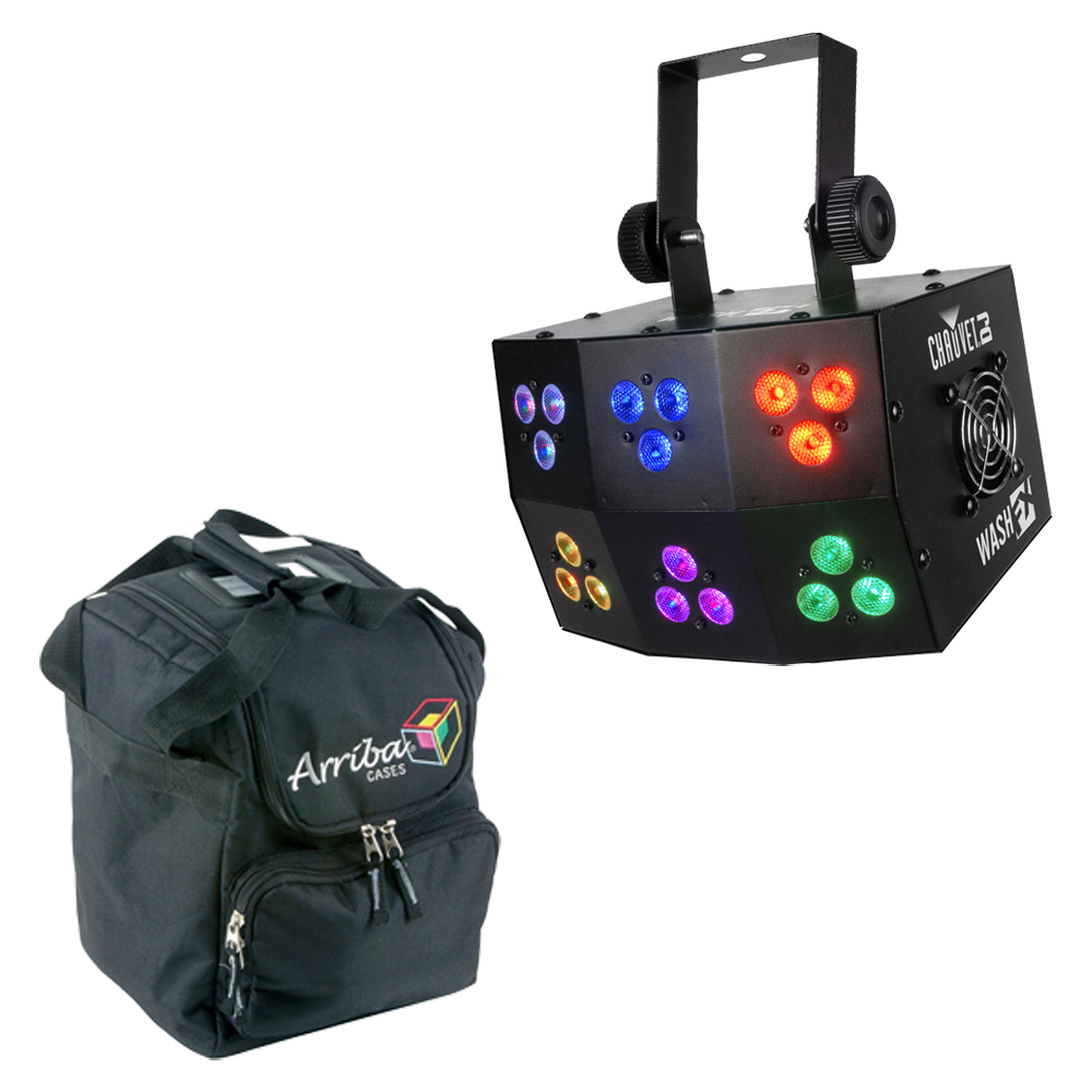 chauvet dj lighting wash fx multi zone pixel mapping rgb led light with travel bag chauvet. Black Bedroom Furniture Sets. Home Design Ideas