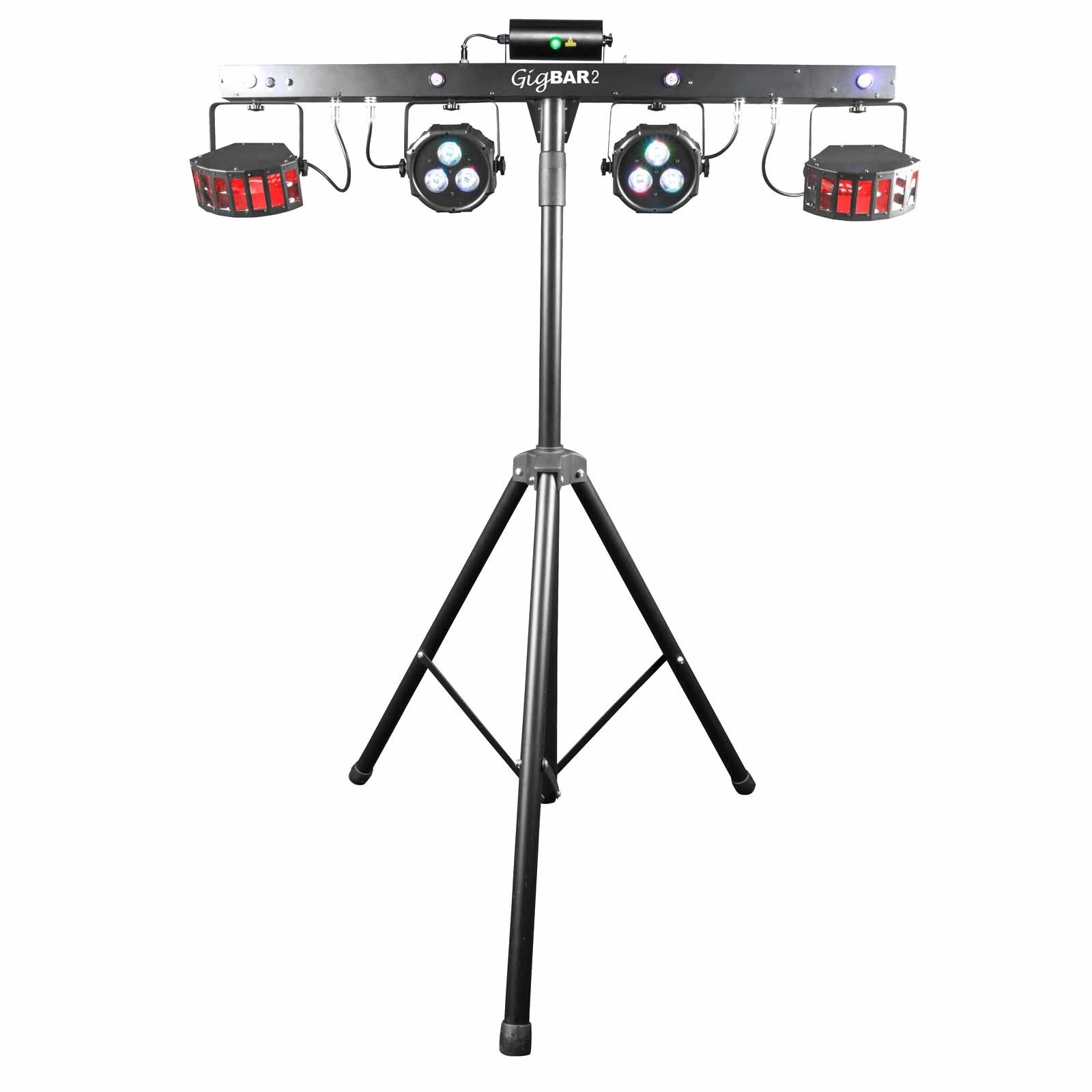 Chauvet Dj Lighting Gigbar 2 Multi Effect 4 In 1 Led Light W Fog Machine New