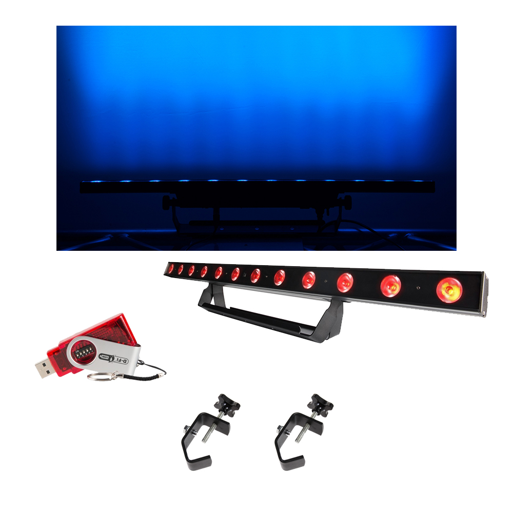 Chauvet DJ Lighting COLORband Pix USB Linear Wash Light w/ D-Fi USB & Clamps