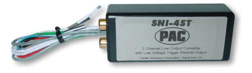 PAC SNI-45T High Power 2-Channel Line Output Converter W/ Trigger Remote  (SNI45T)