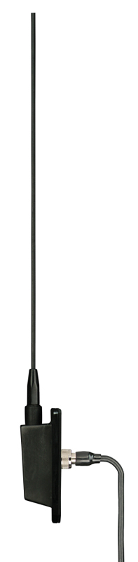 Metra 44-US51B Side Mount Triangle Shaped Base Replacement Antenna for AM/FM Bands (Black)