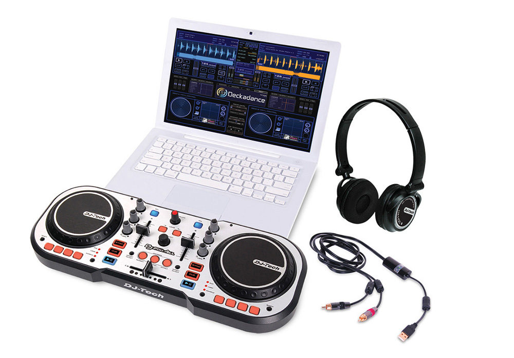 DJ Tech DJ for All USB DJ Controller for the Mass