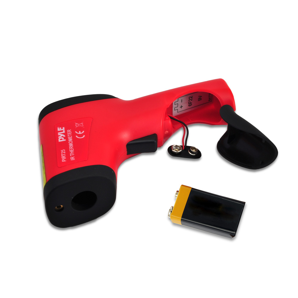 Pyle Car Audio PIRT25 Compact Infrared Thermometer With