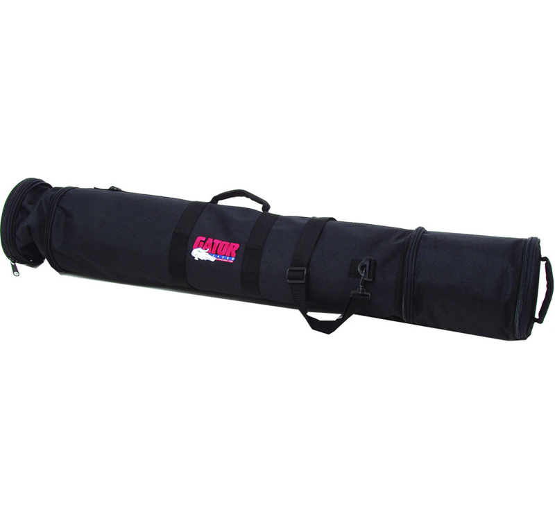 Gator Cases GX-33 5 Microphones & 3 Stands Bag