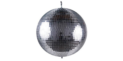 """American DJ M-1616 16"""" Glass Mirror Ball for use with M-101 or 103"""