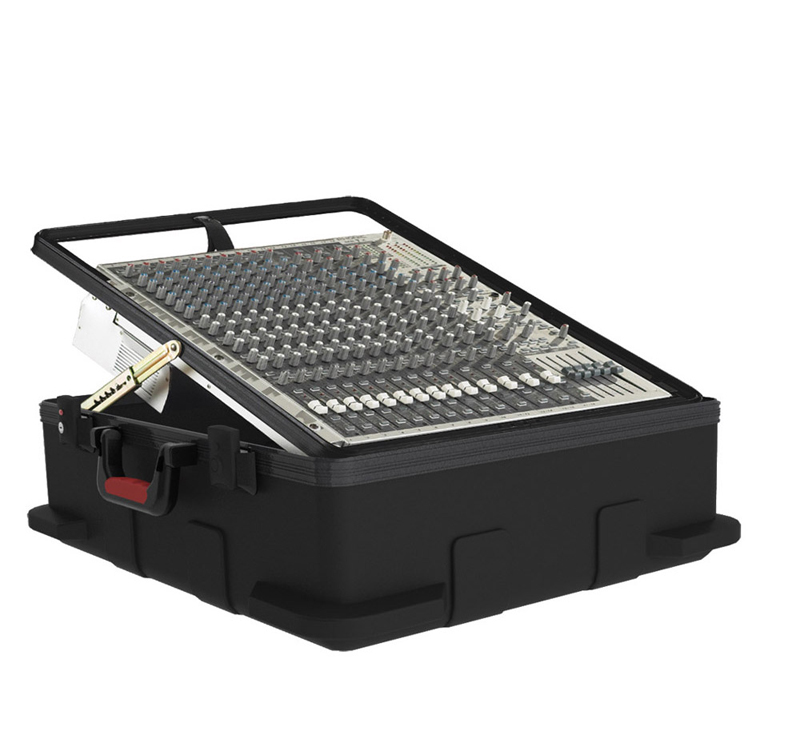 "Gator Cases GMIX-12PU-TSA Pop-Up Mixer Case w/ TSA Latches 12U 6.5"" Deep ATA Molded Case"