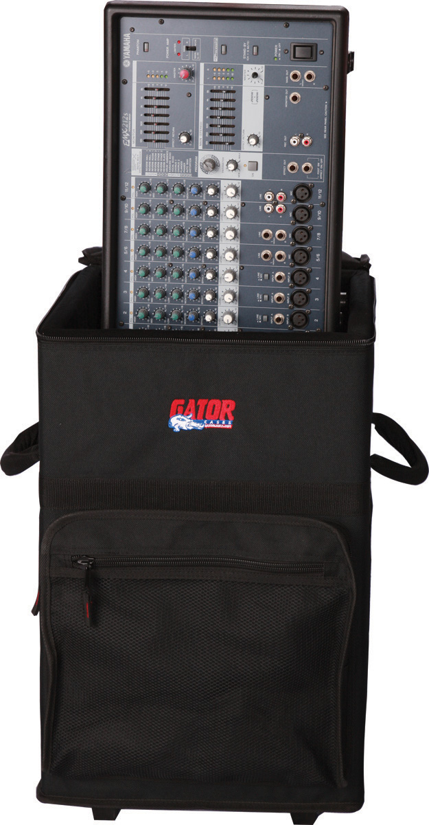 "Gator Cases GPA-720 Powered Mixer Case 13"" x 13.5"" x 20"" Nylon-Covered Wood"