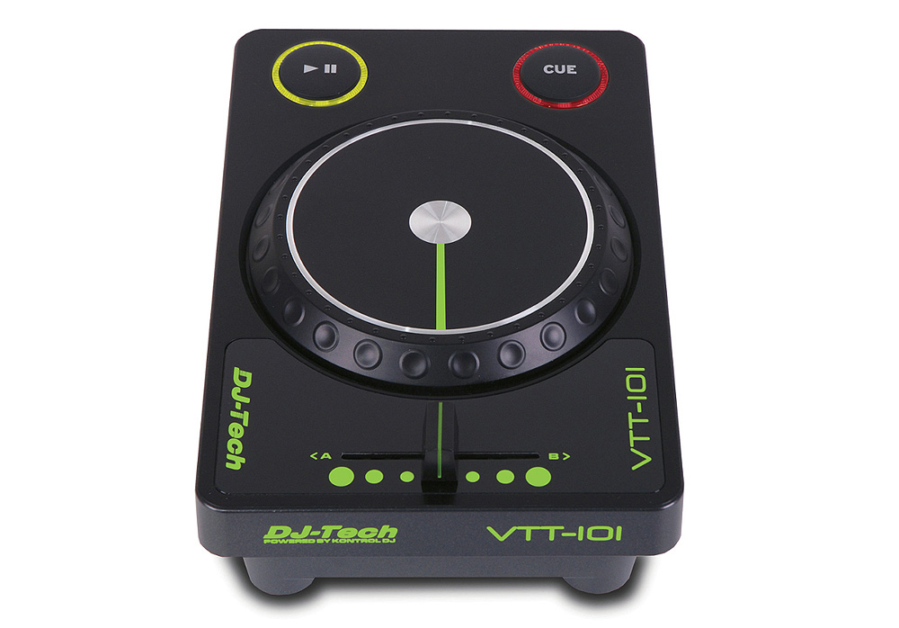 DJ Tech VTT-101 Mini USB Powered Controller with 8 selectable MIDI Channels