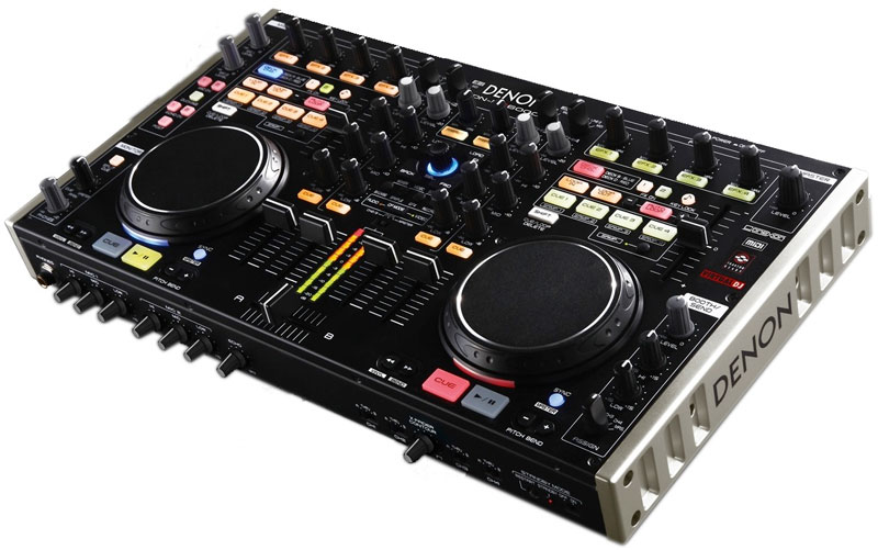 Denon DJ DN-MC6000 Pro Digital 4-Channel Mixer & MIDI Tracktor 2 Controller w/ Rackmount Kit (DNMC6000) - Limited Quanities!