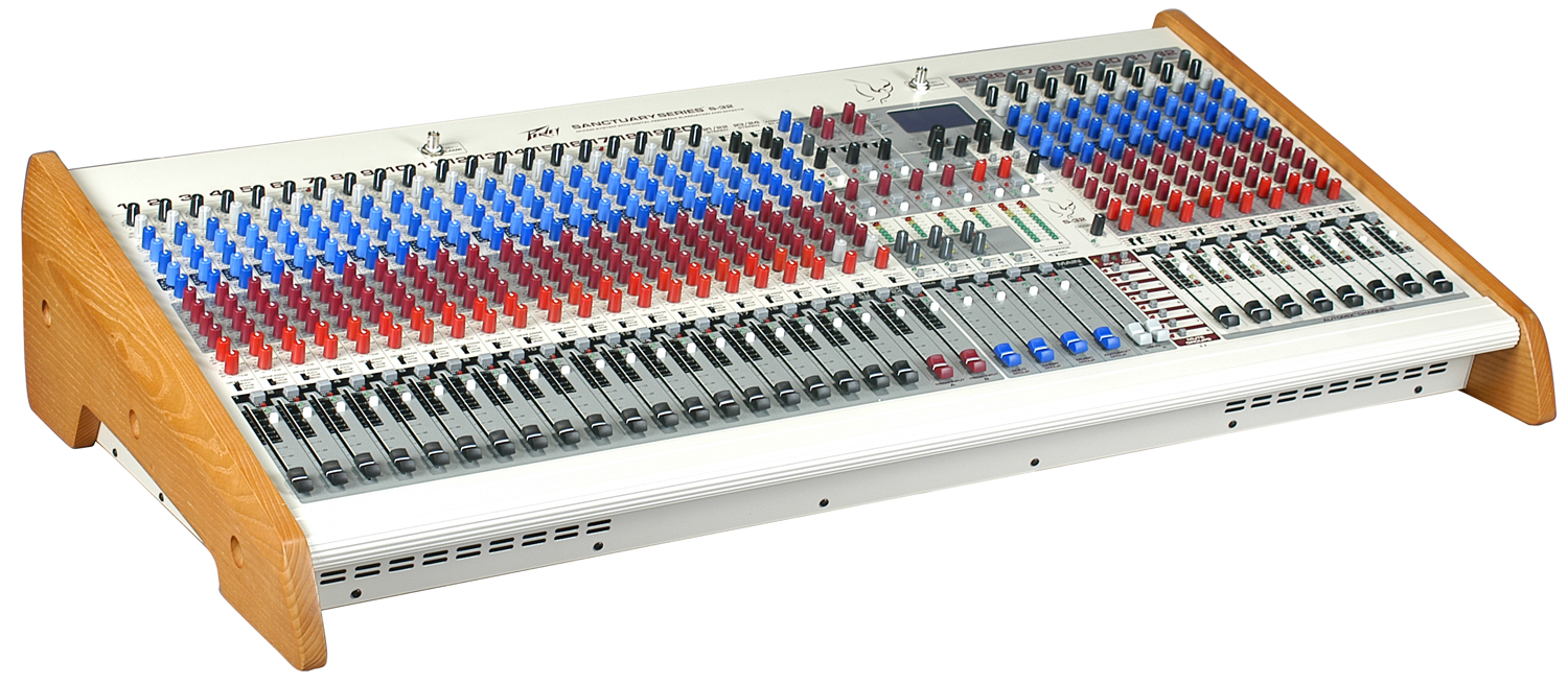 Peavey S32 32 Channel Mixer With 4 Band Eq Eight Automix Channels Audio Circuit 512680
