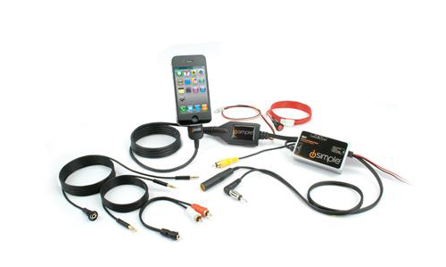isimple is77 tranzlt ipod or iphone high quality car