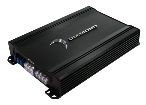 Diamond D1400.1 Car Audio D1 Series 1Ch Class D 400 Watt Sub Amplifier
