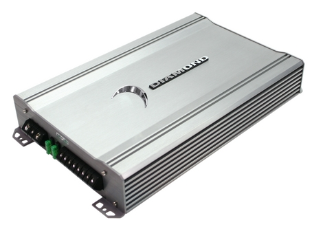 Diamond D3600.1 Car Audio D3 Series 1Ch Class D 600 Watt Sub Amplifier (D3 600.1)