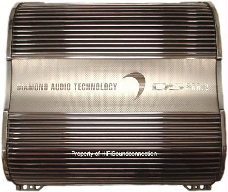 Diamond Audio D5600.1 Mono block Class D Amp Car Amplifier