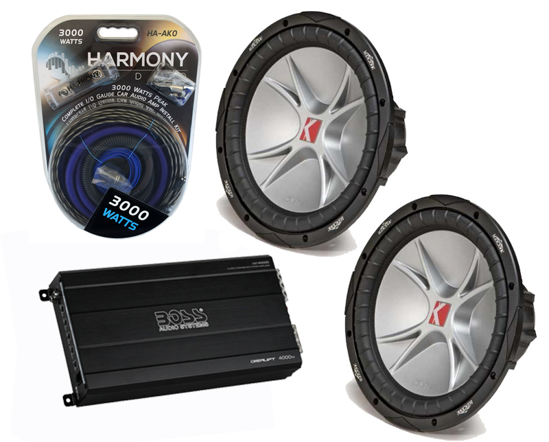 kicker car stereo 2 07 cvr15 comp cvr dual 4 ohm 1000. Black Bedroom Furniture Sets. Home Design Ideas