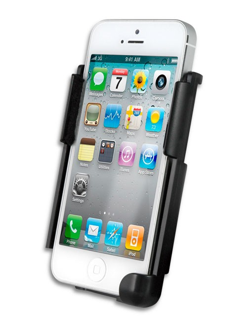 Cycle Sounds 4405-0163 iPhone Cradle Holder w/ Standard 4-Hole Mounting Pattern