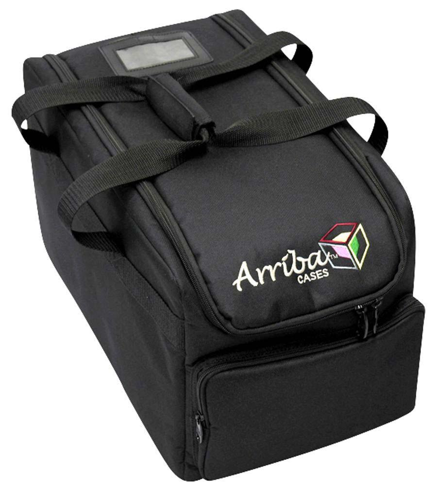 Arriba AC410 Premium Quality Padded Soft Case for Slim Par Lighting Fixtures