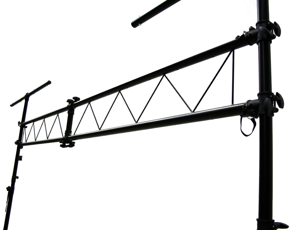 Pro Audio DJ Light Lighting Fixture Portable Truss Trussing With 10 Foot T Bar Stands Package