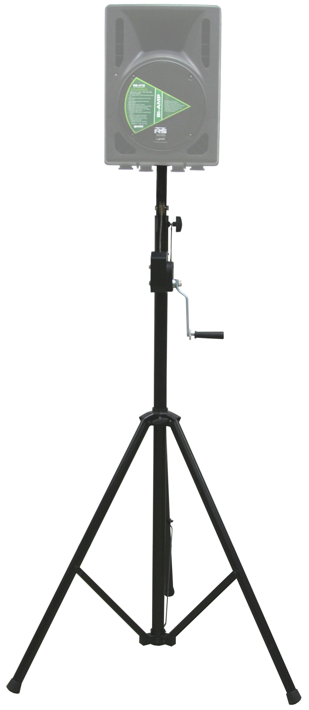 DJ Pro Audio PA Speaker or Lighting Adjustable 10 Foot Max Height Crank Tripod Stand