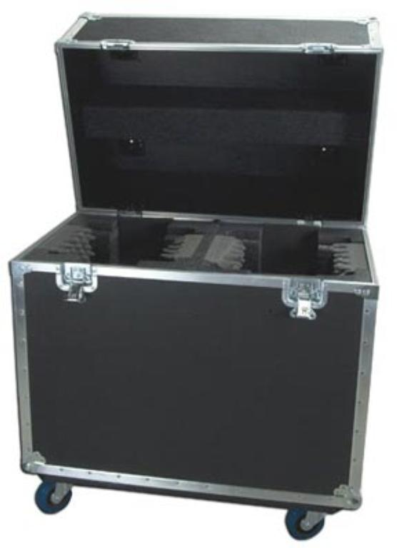 Elation DRC12TR High Quality Tour Dual Road Case for Moving Head Fixtures