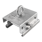 Trusst CTTENT Adjustable Clamp for Clear Span Tents with Keder Grooved Beams