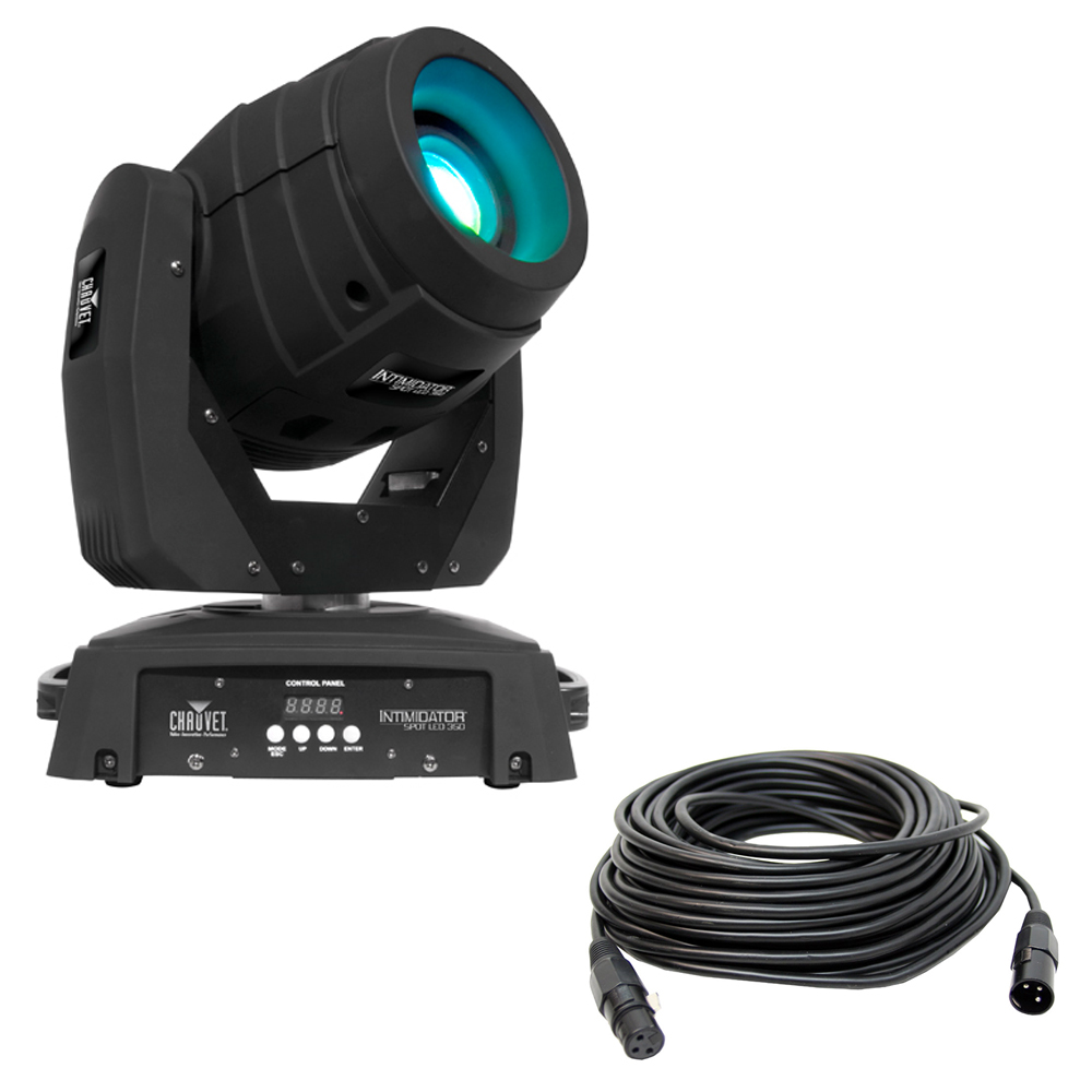 chauvet intimidator spot led 350 dj moving head 75w led. Black Bedroom Furniture Sets. Home Design Ideas