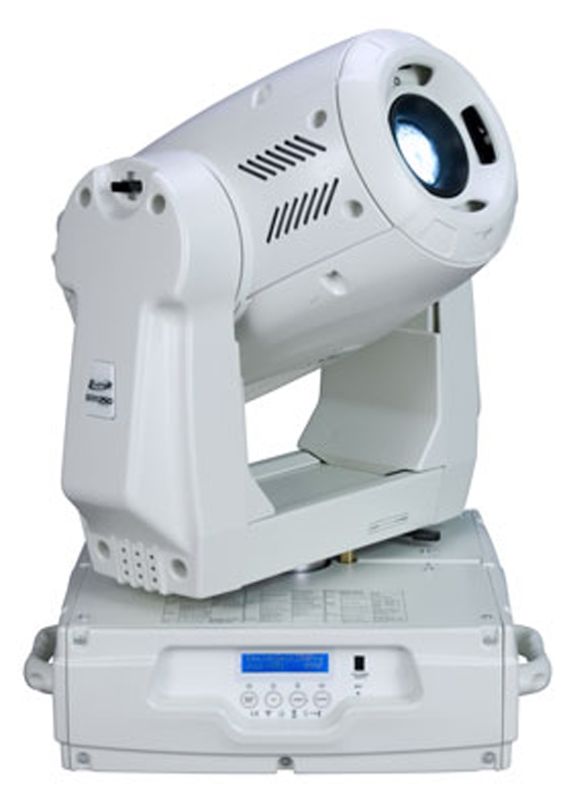 Elation DESIGNSPOT 250PRO WHITE Intelligent Spot / Wash Hybrid with Frost Feature w/ 3-facet Rotatating / Indexing Prism