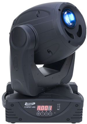 Elation E Spot LED II Compact Design Moving Head with 7 Rotating Gobos