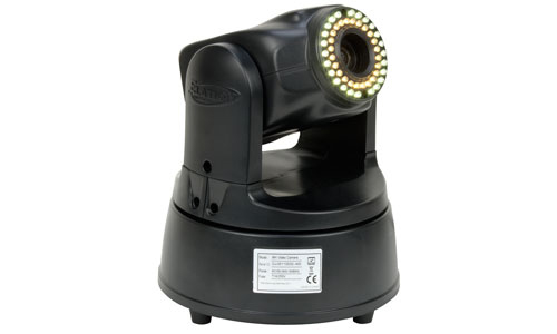 Elation EVCMH LED DMX Moving Head Video Camera with 36W Max Power Consumption