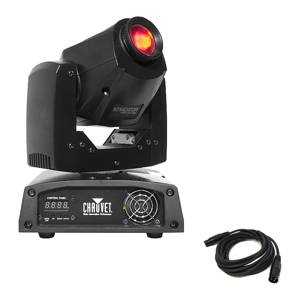 chauvet intimidator spot led 150 dj moving head gobo color. Black Bedroom Furniture Sets. Home Design Ideas