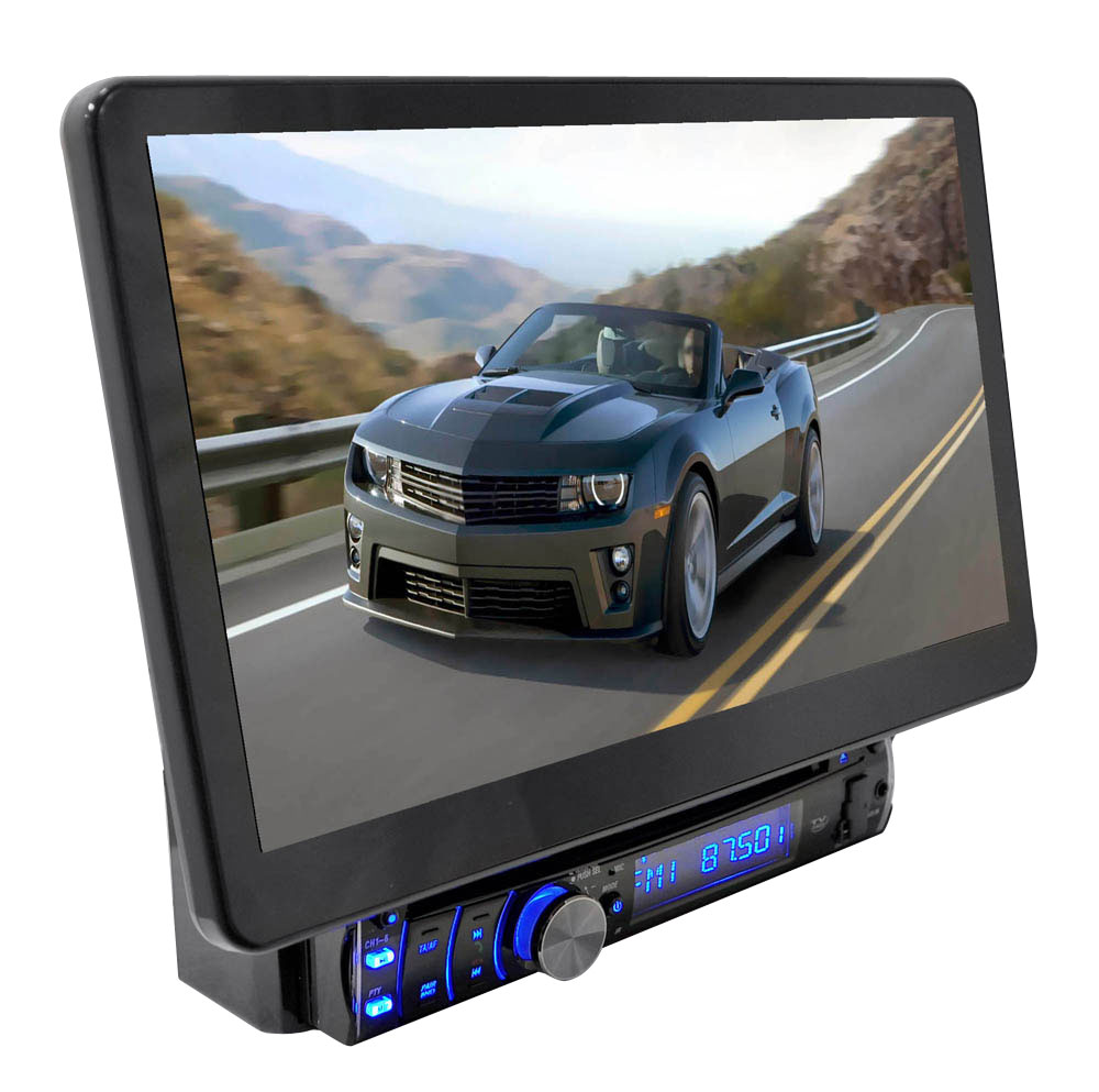 Pyle Pld10bt Car In Dash Dvd Cd Mp3 Player Amp Motorized 10