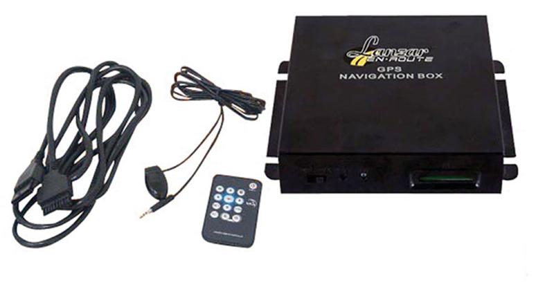 Lanzar SNV90 Universal GPS Navigation System & Touch Screen Compatible