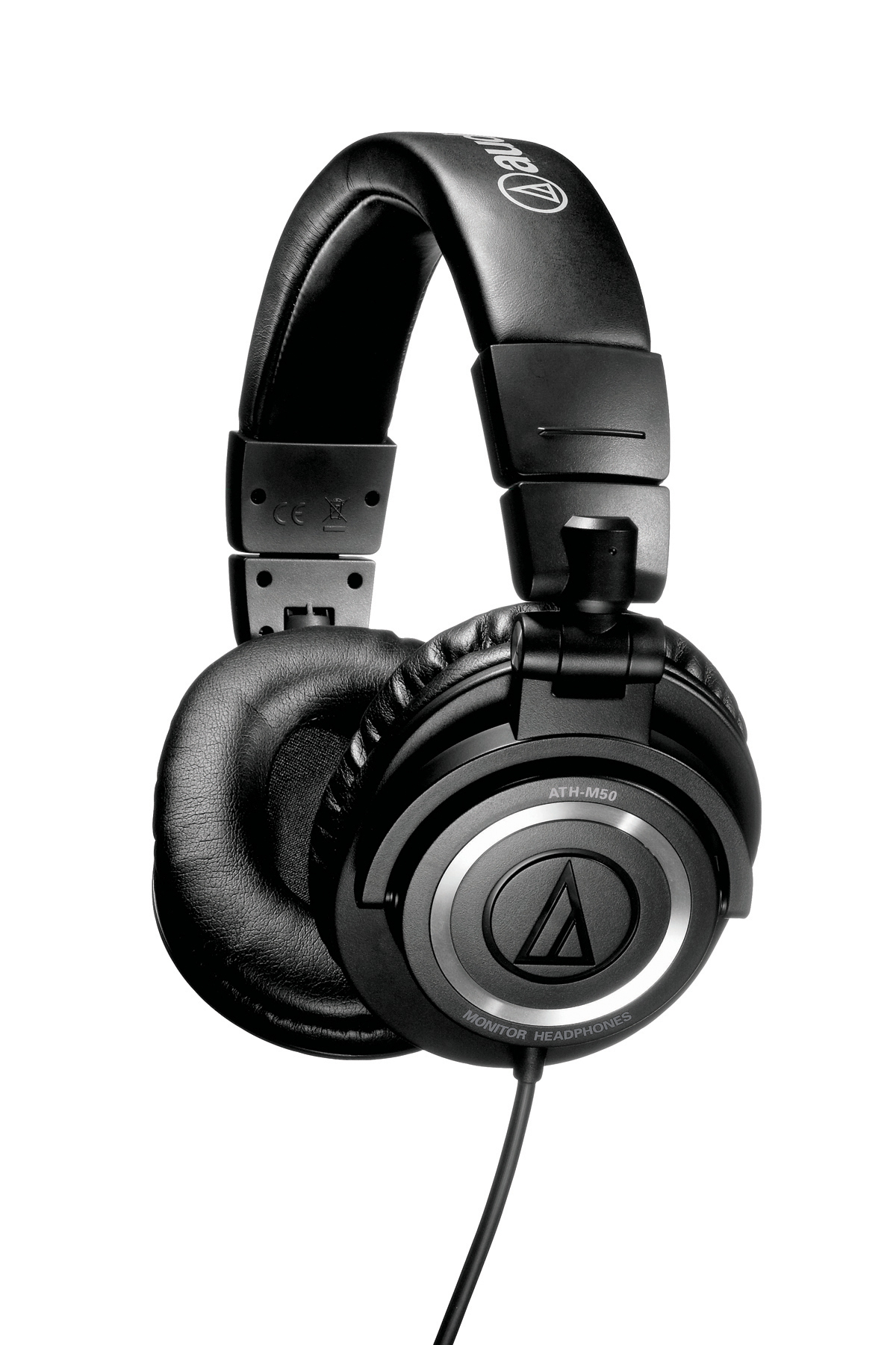 Audio Technica ATH-M50S Professional Studio Monitor Headphones with Straight Cable