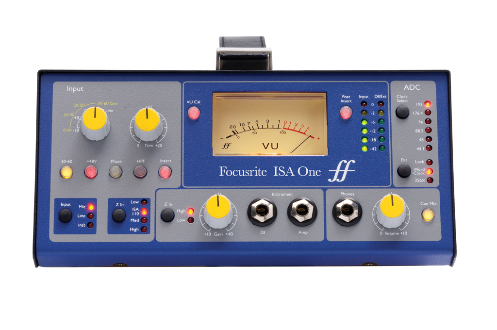Focusrite ISA ONE Portable Instrument/Mic Preamplifier w/ Independent DI