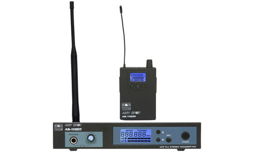 Galaxy Audio AS-1100 UHF Wireless Personal Monitor with 120 Selectable Channels