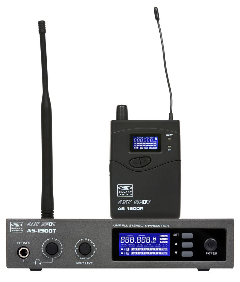 Galaxy Audio AS-1500 120 Channel Wireless Personal Monitor