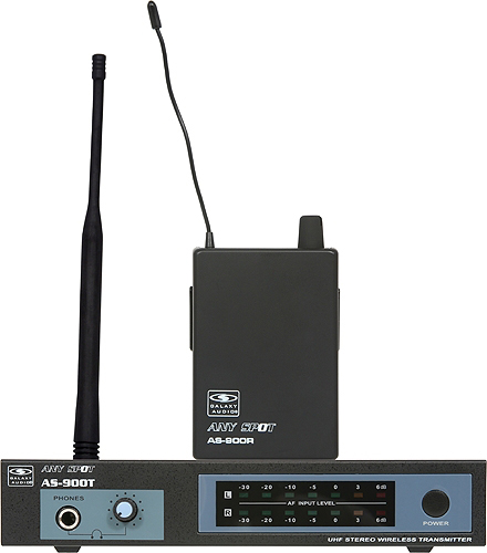 Galaxy Audio AS-900 UHF Fixed Frequency Wireless Personal Monitor