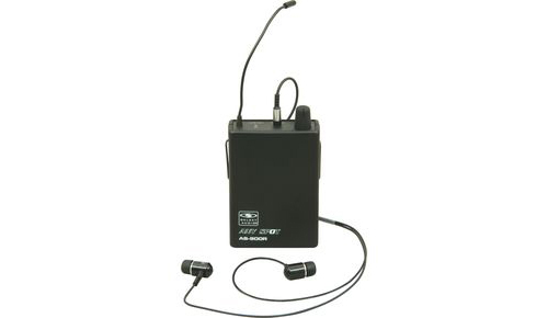 Galaxy Audio AS-900R Bodypack Receiver for the AS-900 Any Spot Wireless Personal Monitor System