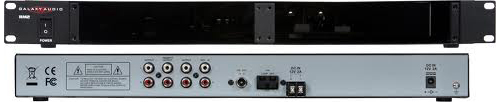 Galaxy Audio RM2CU Rack Chassis with CD Player & Tuner