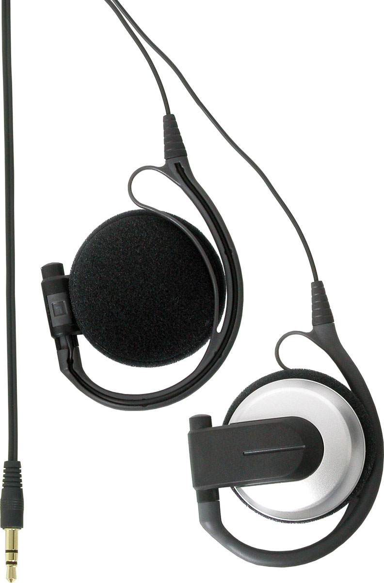 Galaxy Audio AS-EC3 High Performance Silver/Black Wrap Over & Around Ear Cup