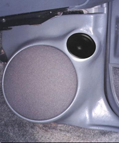 "Q Logic 78-87 Oldsmobile Cutlass 5 1/4"" Custom Speaker Kick Panel"
