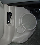 "Q Logic 02-04 Oldsmobile Bravada 5 1/4"" Custom Speaker Kick Panel"